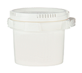 CASE OF (10) SUPPLY-212- SUPPLYPAK 1 GAL POLY PAIL