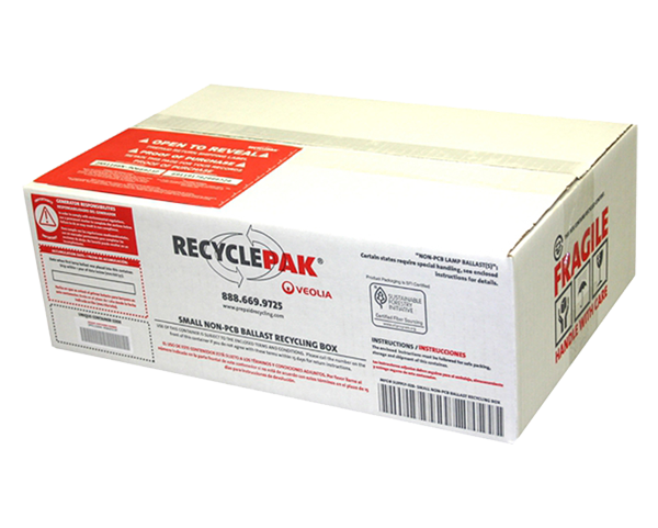 SUPPLY-328- SMALL NON-PCB BALLAST RECYCLING BOX
