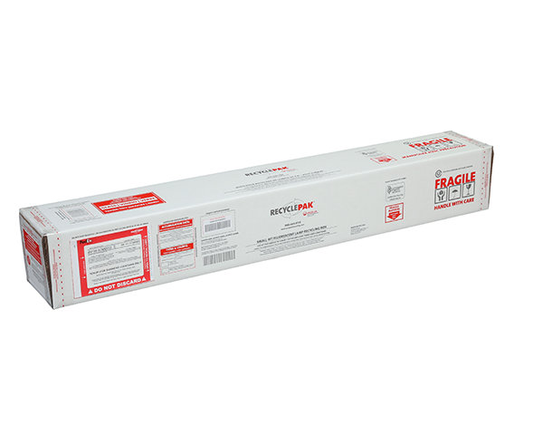 SUPPLY-098CH- SMALL 4FT FLUORESCENT LAMP RECYCLING BOX (EACH) - COMPATIBLE WITH RWC SUPPLY-533, 533CAL, 535