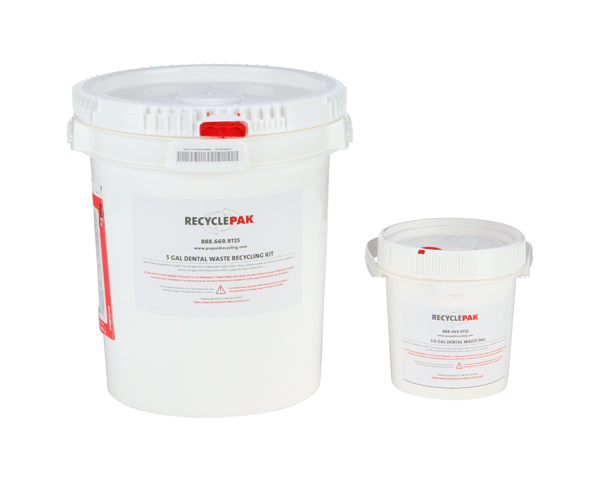 SUPPLY-125- 5 GAL DENTAL WASTE RECYCLING PAIL